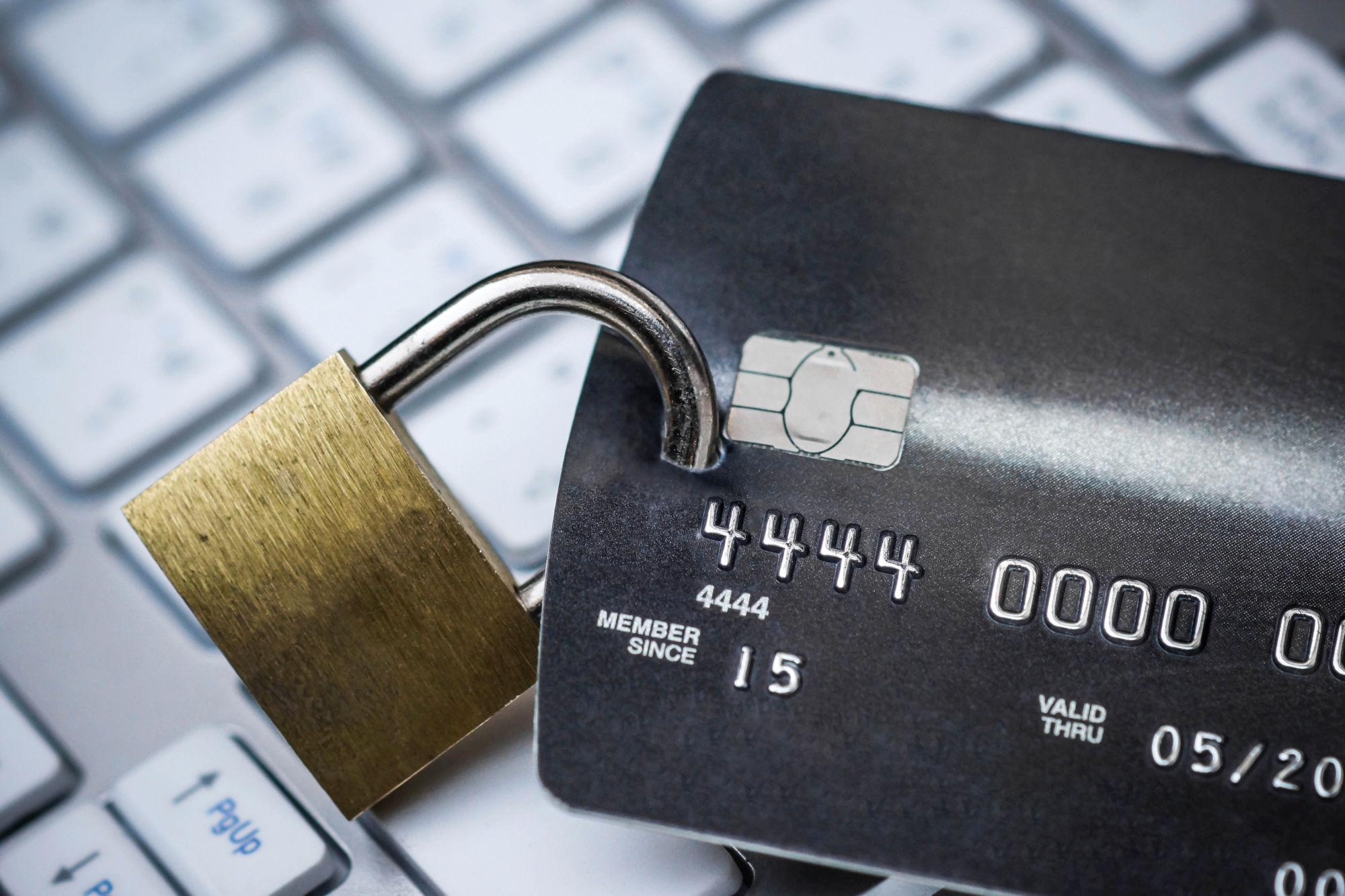 Chránená kreditná karta