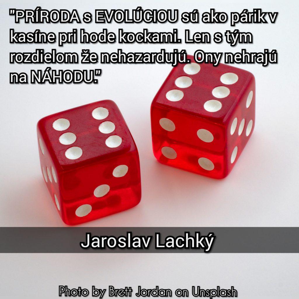 Jaroslav Lachký, príroda aevolúcia