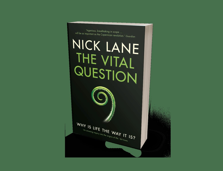 Nick Lane obálka