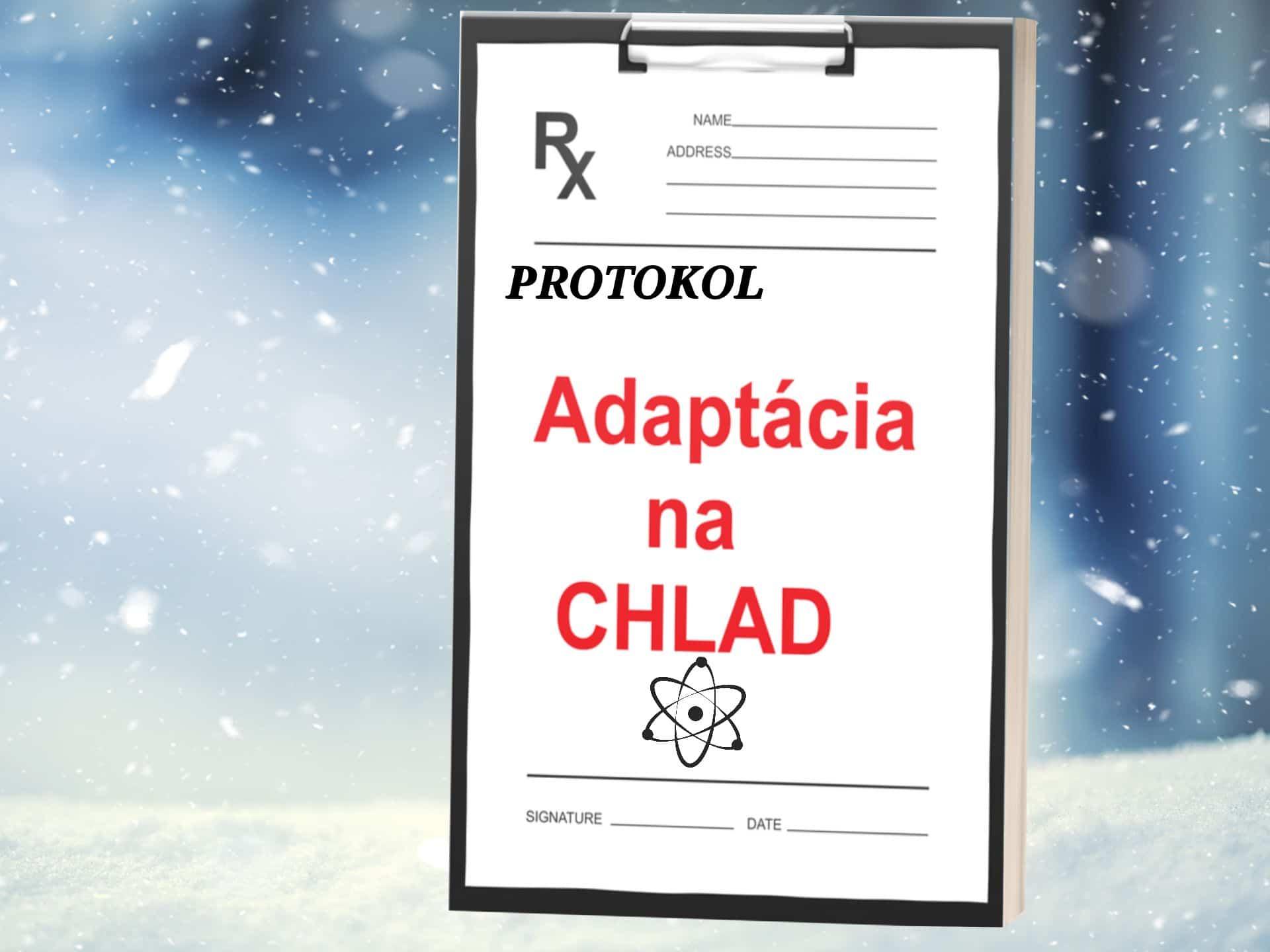 ADAPTÁCIA NA CHLAD #2 PROTOKOL Ako sa adaptovať na chlad