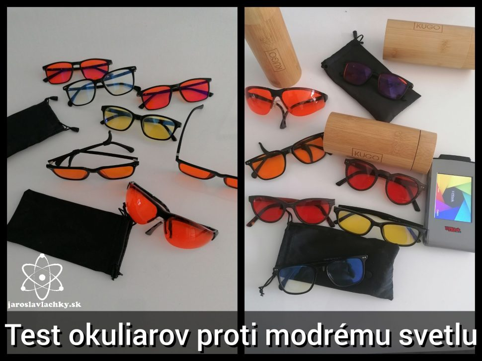 Tipy arecenzie Okuliare proti modrému svetlu, Jaroslav Lachký blog